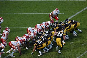 The Pittsburgh Steelers and Kansas City Chiefs...