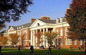 English: Image from Univ of Delaware's Campus