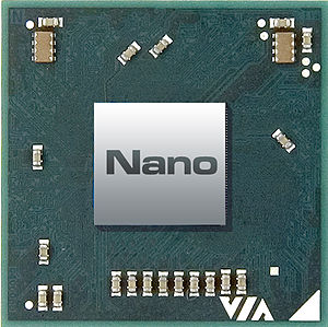 VIA Nano Chip Image (top)