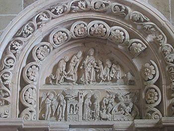 Abbatiale de Vézelay, Bourgogne, France : nart...