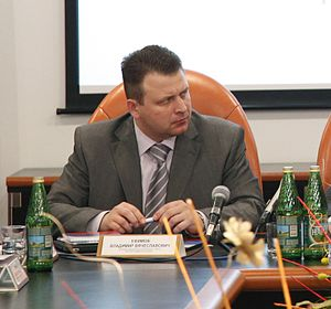 Speaker of Volgograd Oblast Duma Vladimir Yefi...