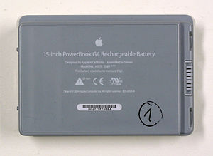 Rechareable battery for PowerBook (Apple)