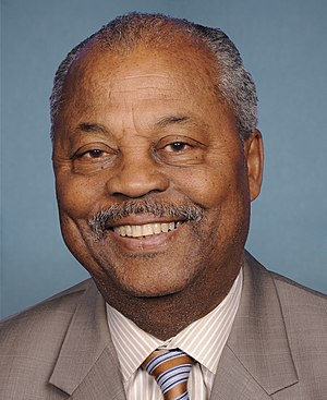 English: US Congressman Donald Payne