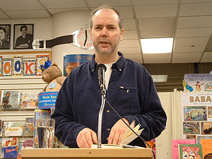 Douglas Coupland reading Eleanor Rigby at A Cl...