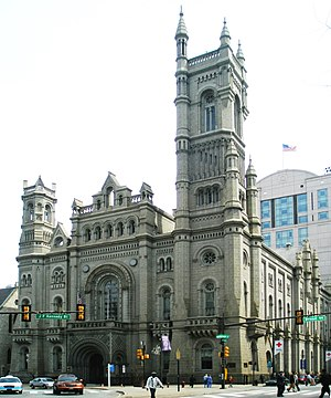 Grand Lodge of Pennsylvania, across from Phila...