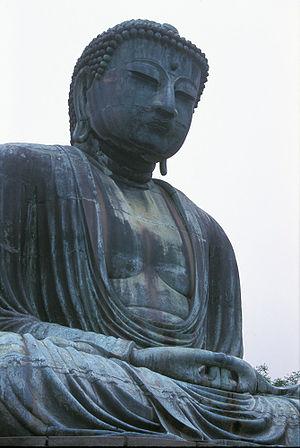 Buddha statue, Kamakura, Japan