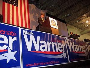 Mark Warner accepts the Democratic nomination ...