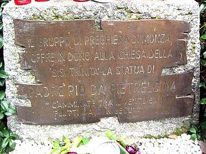 Monza-Padre-Pio-di-Pietralcina-targa