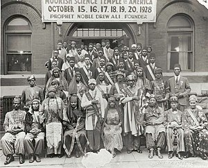 A photo of the 1928 Moorish Science Temple Con...