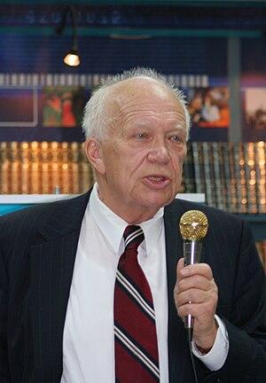 Sergei Khrushchev, son of Nikita Khrushchev, p...