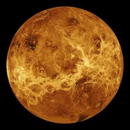 Rocky Surface of the Red Planet Venus