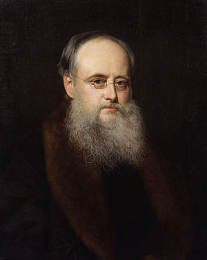 (William) Wilkie Collins, by Rudolph Lehmann (...