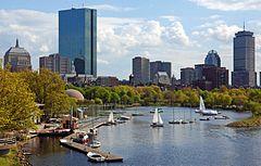 Boston desde la bahia.