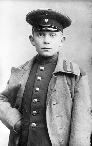 Göring in 1907, at about age 14