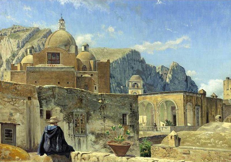 File:Capri painting - Vilhelm Kyhn.jpg