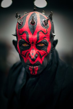 Darth Maul Cosplayer at MCM Comic Con October 2016