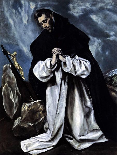 St. Dominic by El Greco