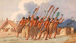 War dance, New Zealand