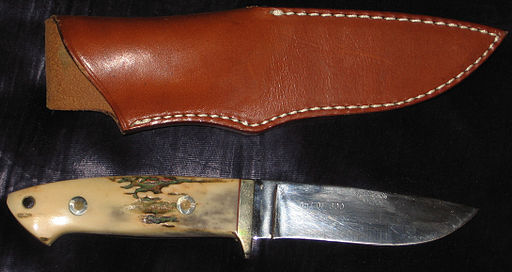 Modern hunting knife Rigid Custom