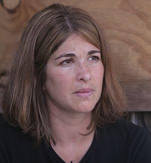 Canadian journalist/activist Naomi Klein
