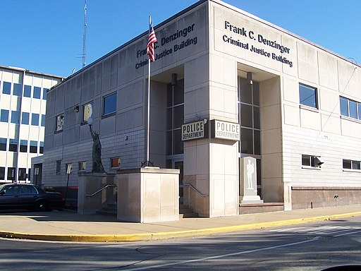 New Albany Indiana police station