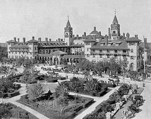 The Ponce de Leon Hotel in St. Augustine, Flor...