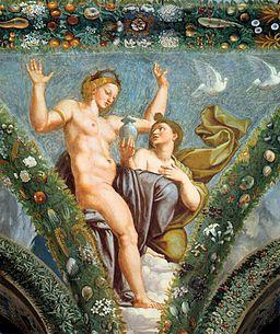 Raffaello Sanzio - Venus and Psyche - WGA18855