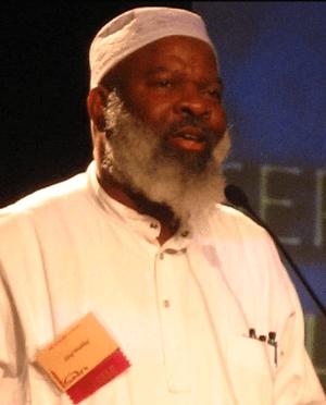 English: African American Muslim convert, Imam...