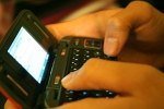 Texting on a qwerty keypad phone