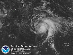 Tropical Storm Arlene (1999)