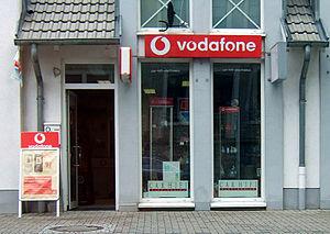 Vodafone Geschäft bei Mainz