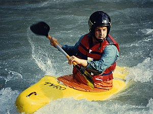 Whitewater kayaking, Isére, Bourg-Saint-Maurice
