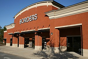 Borders Books at 1807 Fordham Boulevard in Cha...