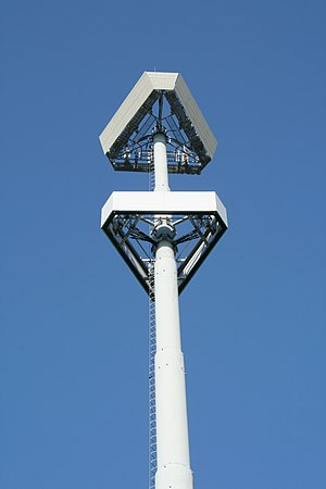 A cell tower in Morrisville, North Carolina.