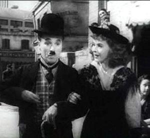 Cropped screenshot of Charlie Chaplin and Paul...