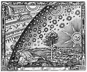 The Flammarion woodcut is an enigmatic wood en...