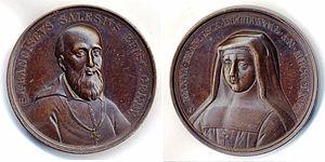 Francis de Sales and Jane Frances de Chantal, ...