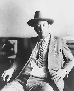Captain Frank Hamer circa early 1920s