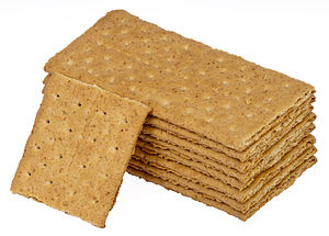 English: A stack of Nabisco Graham Crackers.