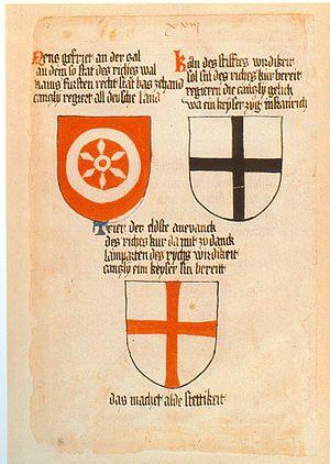 Ingeram-Codex der ehemaligen Bibliothek Cotta ...