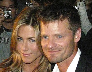 Jennifer Aniston and Steve Zahn on the Red Car...