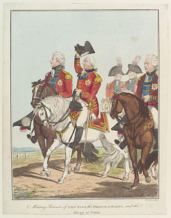 King George IV; King George III; Frederick, Du...