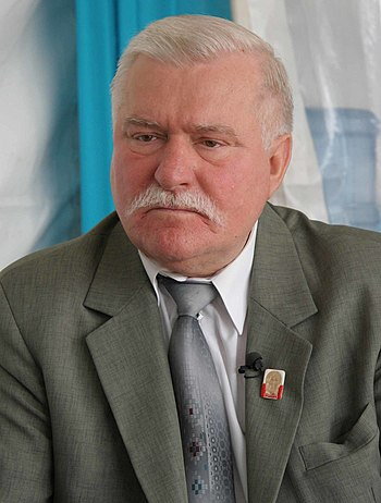 English: Lech Walesa in 2009.