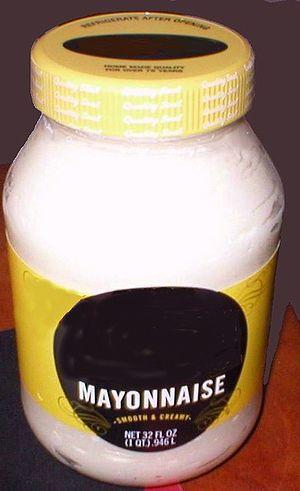 Mayonnaise Jar 550x900