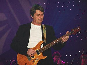 Mike Oldfield at the Nokia Night of the Proms ...