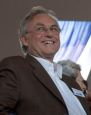 Richard Dawkins in a lecture in Reykjavík
