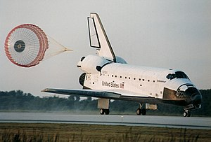 Space Shuttle Endeavour landing