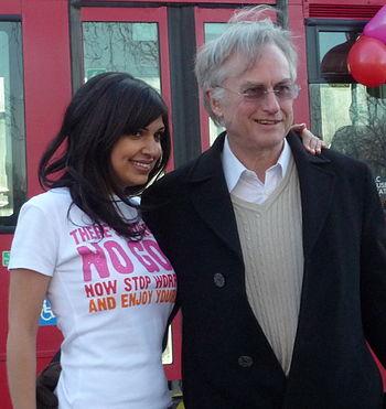 Atheist Bus Campaign creator Ariane Sherine an...