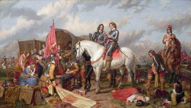 """Cromwell in Battle of Naseby"" by Charles Landseer"