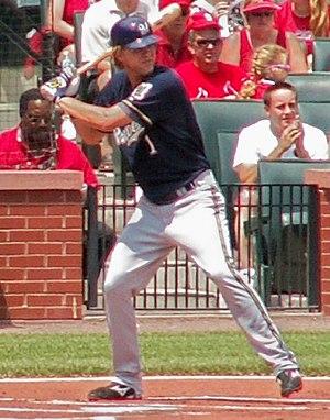 Corey Hart at bat